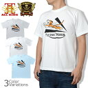 ALL KING(オールキング) FLYING TIGERS/フライングタイガース ミリタリー メンズ半袖Tシャツ