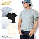 ショッピングゼット BARNS OUT FITTERS(バーンズ アウトフィッターズ) 丸胴 ヴィンテージ ガゼット Tシャツ BR-8145