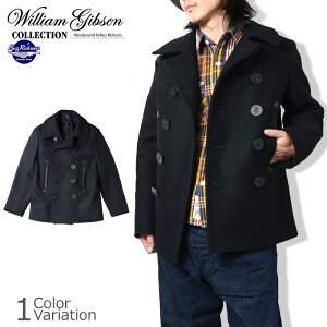 "BuzzRickson's�ʥХ��ꥯ���󥺡�""WILLIAMGIBSONCOLLECTION""BLACKPEACOAT(�֥�å��ԡ�������)#BR12394"
