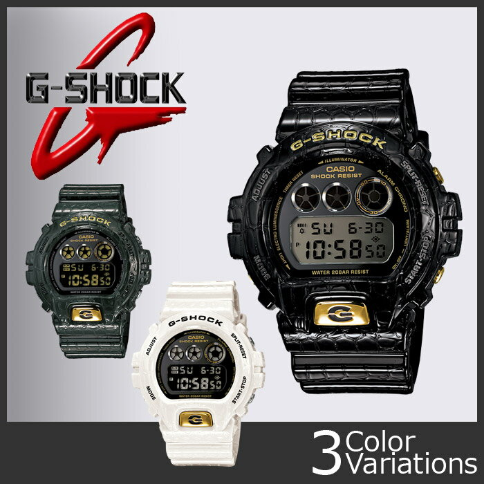 CASIO(カシオ) G-SHOCK DW-6900CR-1JF/3JF/7JF 樹脂バンド 正規品【1年保証】G-SHOCK