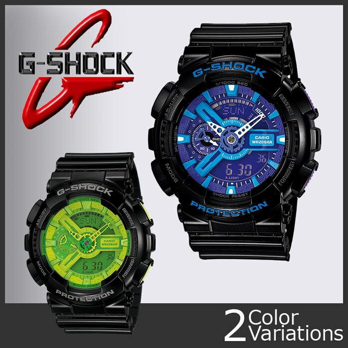 CASIO(カシオ) G-SHOCK GA-110B-1A3JF/GA-110HC-1AJF 樹脂バンド