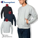 Champion(チャンピオン) リバースウィーブ(赤タグ)スナップスウェットシャツ(12.5oz) C5-E002