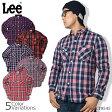 Lee(リー) フランネルチェックワークシャツ LT0545