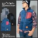 MANASTASH(マナスタッシュ) THEMAL FLEECE VEST サーマル フリース ベスト メンズ 7152043