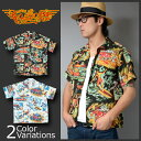 """SUN SURF(サンサーフ) Mister Freedom × Sun Surf Rock&Roll Shirt """"Action Paked"""" アロハシャツ ..."""