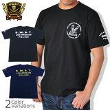 SWAT ORIGINAL(スワットオリジナル) メンズ Tシャツ 半袖 【ミリタリー】 スワット 3プリントTシャツ 6.2oz