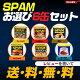 スパムお選び6缶セット SPAM 340g ランチョンミート缶 スパムおにぎり スパムむす…