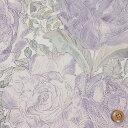 【サンドウオリジナルカラー】リバティプリント タナローン生地(Rose Xanthe/紫苑sion/パープル)ローズ・ザンジー【3635180】