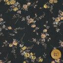 リバティプリント タナローン574(Elizabeth エリザベス)ブラック【3635049】