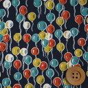 リバティプリント タナローン549(Balloons バルーンス)ブラック[DC28986・J16A]【02P28Sep16】
