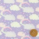 【サンドウオリジナルカラー】リバティプリント タナローン515(Hiding ハイディング)フラッフィーパープル リバティ