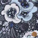 リバティプリント タナローン586(Milky Way ミルキー・ウェイ)ブラック【3637170・17C】【10P03Dec16】
