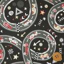 リバティプリント タナローン(Chicane シケイン)ブラック【09-3639289・J18C】