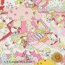 ハローキティ × リバティプリント(Magical Land マジカル・ランド)ライトピンク&ピ