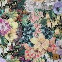 リバティプリント タナローン(Painted Journey ペインテッド・ジャーニー)カラフル(ブラック地)【19-3639131・19AT】