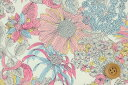 リバティプリント タナローン生地(Angelica Garla アンジェリカ・ガーラ)ピンク【3631034】 リバティ