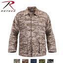 ロスコ迷彩BDUシャツジャケット/Rothco Digital Camo BDU Shirts/8695他(5色)