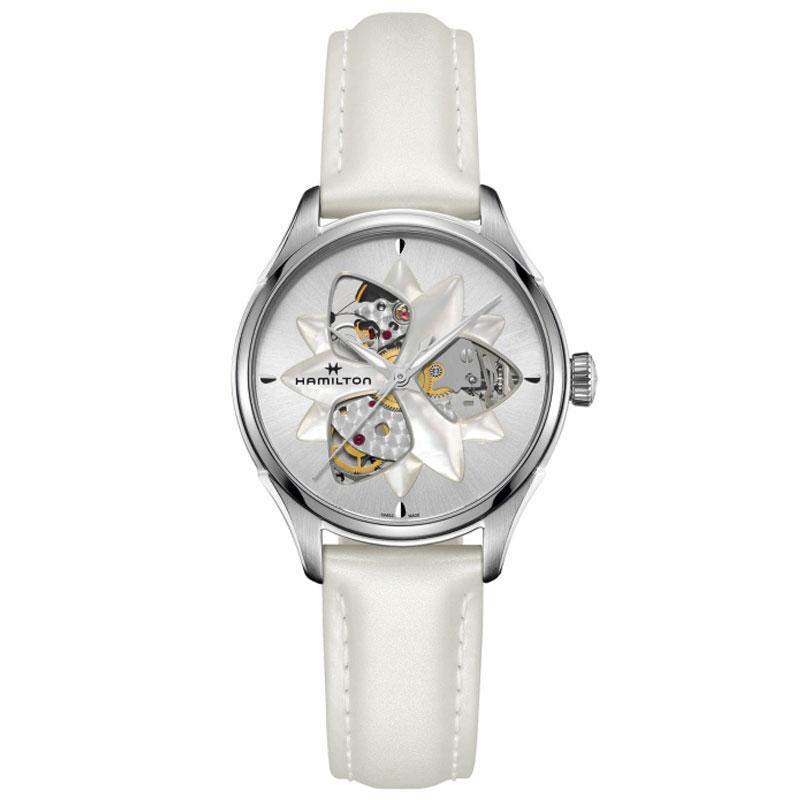 送料無料 HAMILTON ハミルトン 腕時計 オープンハートオートマチックレディー H32115991 国内正規品 レディース ハミルトン Jazzmaster オープンハート オートマチックレディース 国内正規品 送料無料【まずお客様】