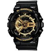 送料無料 CASIO カシオ G-SHOCK Gショック ジーショック Gショック 腕時計 メンズ Black×Gold Series GA-110GB-1AJF 国内正規品 gshoc 防水 時計 新品 多機能 ワールドタイム ショックレジスト ブラック 黒 ブラック×ゴールドシリーズ