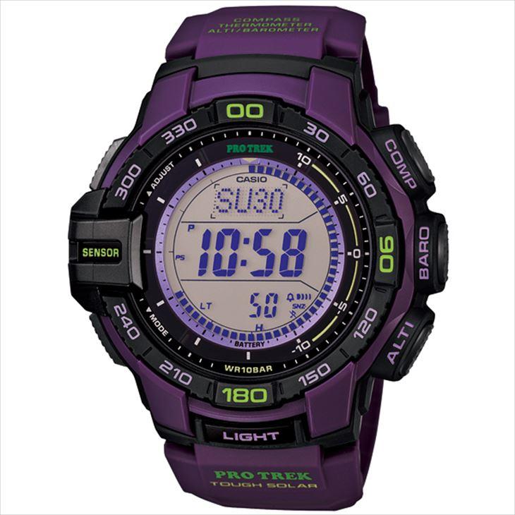 CASIO PRO TREK プロトレック 腕時計タフソーラー トリプルセンサー Ver.3 PRG-270-6AJF 国内正規品 メンズ PRO TREK プロトレック 腕時計 希少