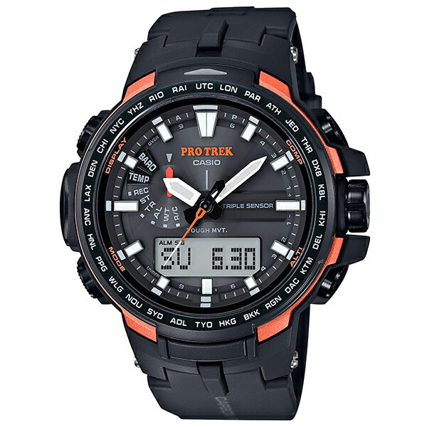 CASIO PRO TREK PRO TREK プロトレック 腕時計 トリプルセンサーVer.3  PRW-6100Y-1JF 国内正規品 メンズ PRO TREK プロトレック 腕時計 希少セイコー ペア 腕時計