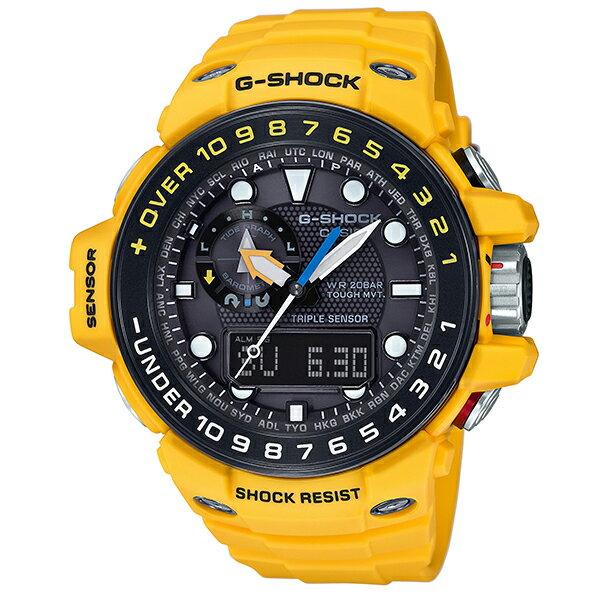 G-SHOCK ジーショック 腕時計 マスターオブGシリーズ「ガルフマスター」 GWN-1000H-9AJF 国内正規品 メンズ G-SHOCK 過酷な海上での使用を想定したマスターオブGシリーズ「ガルフマスター」から、必要な情報をすばやく確認