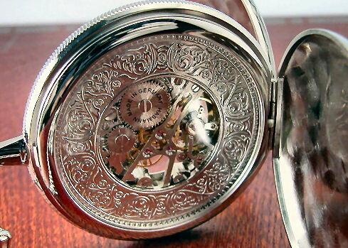 HABMANN ハッフマン 懐中時計 手巻き ...の紹介画像3
