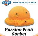 【業務用】ブルーシールアイス アイスクリーム 沖縄限定 4リットル ビッグ 内祝い あす楽 パッションフルーツシャーベット
