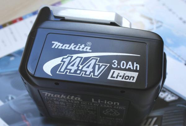【マキタ正規登録販売店】【makita】【セットばらし品】【過充電防止保護回路搭載!】 星のマ−ク入!新品14.4V マキタ リチウムイオンバッテリー (電池) BL1430