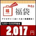 福袋 2017円 合計3点〜4点 ネックレス ピアス アクセサリー レディース プチ プレゼント ギ...
