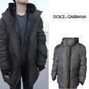 D&G ドルガバ ドルチェ&ガッバーナ Dolce&Gabbana メンズ ダウン ジャケット コート フー