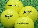 【Aランク】【ロゴなし】SRIXON(スリクソン) AD333 パッションイエロー 2011年モデル 1個 【あす楽】【ロストボール】【中古】