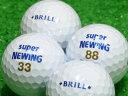 【Aランク】【ロゴあり】SUPER NEWING(スーパーニューイング) BRILL ホワイト 1個 【あす楽】【ロストボール】【中古】