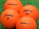 【Aランク】【ロゴあり】Titleist(タイトリスト) VG3 オレンジパール 2012年モデル 1個 【あす楽】【ロストボール】【中古】
