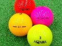 【ABランク】【ロゴなし】本間ゴルフ D1 2016年モデル カラー混合 1個 【あす楽】【ロストボール】【中古】