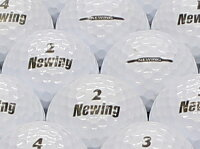 【ABランク】【ロゴなし】Newing(ニューイング) SUPER SOFT FEEL パールホワイト 1個 【あす楽】【ロストボール】【中古】の画像