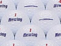 【ABランク】【ロゴなし】ニューイング SUPER SOFT FEEL ホワイト 30個セット 【あす楽】【ロストボール】【中古】の画像
