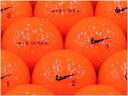 【ABランク】【ロゴなし】NIKE(ナイキ) PD/LONG オレンジ 2014年モデル 1個 【あす楽】【ロストボール】【中古】