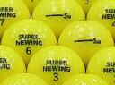 【ABランク】【ロゴなし】SUPER NEWING(スーパーニューイング) 2011年モデル スーパーイエロー 1個 【あす楽】【ロストボール】【中古】