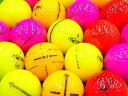 【AB落書き】本間ゴルフ D1 2016年モデル カラー混合 1個 【あす楽】【ロストボール】【中古】