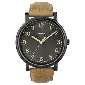 【TIMEX】タイメックス 腕時計 モダンイージーリーダー ブラックサンレイダイアル T2N677/オイルドレザーベルト/新品・未使用