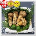 【国産松茸】:特選松茸:200g(約4〜10本):岡山・淡路産
