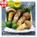 【国産松茸】:進物松茸:300g(約4〜10本):岡山・兵庫産・他