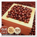 【大納言小豆】丹波大納言小豆:2Lサイズ:1袋500g(約3合)