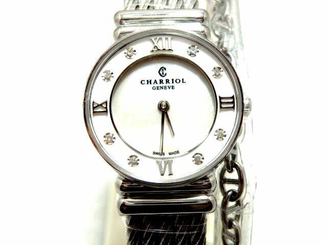 【新品】シャリオール CHARRIOL サントロぺ レディース 028SD1.54.552 腕時計/女性/レディース/Lady's/時計/ウォッチ/うでどけい/watch/高級/ブランド シャリオール/腕時計/女性/レディース/Lady's/時計/ウォッチ/うでどけい/watch/高級/ブランド