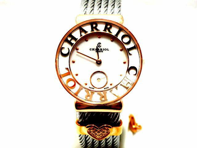 【新品】シャリオール CHARRIOL サントロぺ レディース ST30PC.560.020S 腕時計/女性/レディース/Lady's/時計/ウォッチ/うでどけい/watch/高級/ブランド シャリオール/腕時計/女性/レディース/Lady's/時計/ウォッチ/うでどけい/watch/高級/ブランド