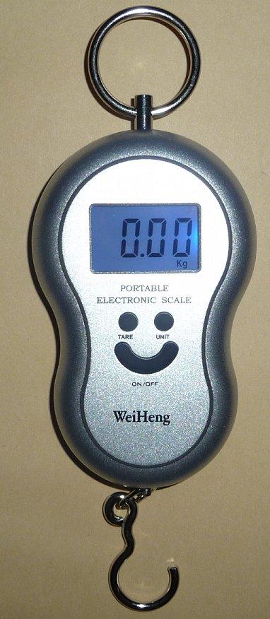 光吊りはかり10gの単位で40kgまで計量温度も測定デジタル吊はかりスケール秤...:auc-ten-kou:10000013