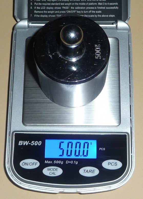 小型デジタル精密はかりデジタルスケール●0.1gで500gまで計量数も数える精密光るはかり…...:auc-ten-kou:10000038