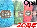 Opal 靴下用毛糸 20Jahre(20周年)4-fach【Opal各種2玉以上お買上げで送料無料】