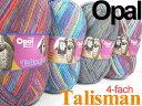 Opal 靴下用毛糸 Talisman 4-fach【Opal各種2玉以上お買上げで送料無料】
